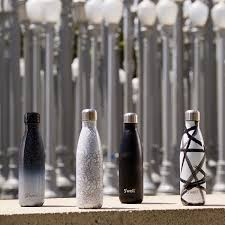s u0027well insulated stainless steel bottle monochrome ombre speckle