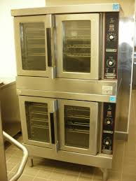 Hobart Gas Double Stack Convection Oven Model HGC5 10 Pre Owned
