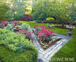 Zone Gardening - classic mother daughter garden traditional home