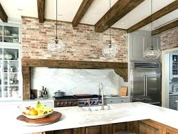 kitchen feature wall ideas kitchen brick wallpaper ideas medium size of kitchen brick wallpaper