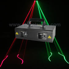 doubles heads green and cheap laser lights for sale with new