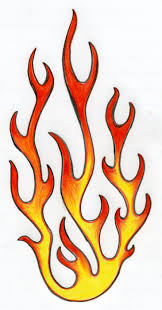 coloring pages of flames how to draw flames