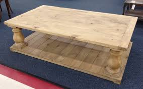 Baluster Coffee Table Balustrade Coffee Table For Living Room
