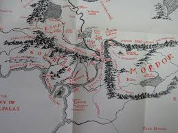 Map Of Mordor The Two Towers U0027homecoming U0027 Blog