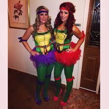 Ninja Turtle Halloween Costume Toddler Tmnt Teenage Mutant Ninja Turtle Women U0027s Costume Tutu Sister