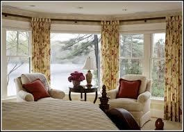 bay window curtain rods walmart curtains home design ideas