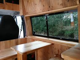 campervan ford transit t350 hitop lwb off grid solar conversion w