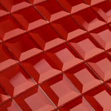 Red Mosaic Tile Backsplash by Red Glass Mosaic Tile Online Shopping The World Largest Red Glass