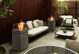 tower garden fire pits from ecosmart fire architonic