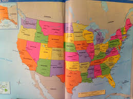 United States On A Map by Mr T U0027s Social Studies September 2015