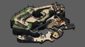 Maps Go Your Favourite Cs Go Maps In Isometric Format Esports News
