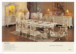 hand carving leaf gilding dining room set antique classic