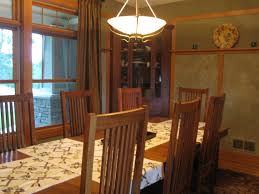 susan brown arts and crafts dining room completed