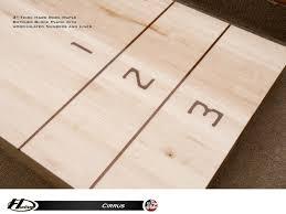 16 u0027 cirrus outdoor shuffleboard table gametablesonline com