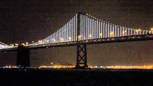 Art Lights San Francisco Oakland Bay Bridge Lights Up The Night News Youtube