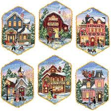 3 5 x 5 5 ornaments counted cross stitch kit