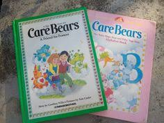 vintage care bears book thehoneysuckletree etsy 3 50