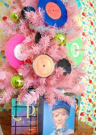 decorating a rocking vinyl record music tree blog treetopia com