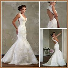 aliexpress com buy 2016 amazing lace backless wedding dresses