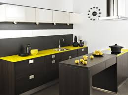 cuisine jaune et grise darty cuisine soba wenge jaune idées pour la cuisine