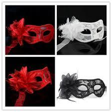 wholesale masquerade masks women lace masks black white venetian mask feather