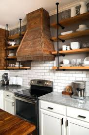 articles with upper kitchen cabinets with glass doors on both