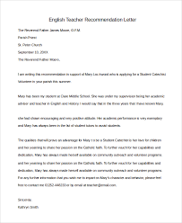 ideas collection sample reference letter for a middle