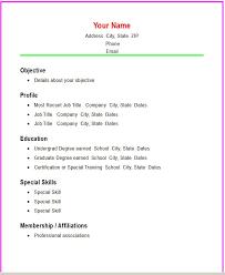 simple student resume format resume basic format nardellidesign