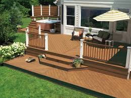 Backyard Deck Design Ideas Outdoors Design Backyard Brick Deck Designs Backyard Back Deck