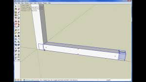 Sketchup Draw Line Specific Length Using The Stretch Tool Youtube