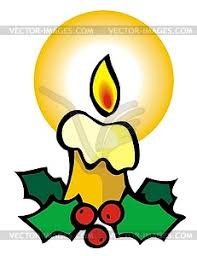 candle vector clipart