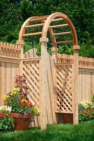 Arbors And Pergolas by Wood Arbors And Pergolas Pro Fence Supply