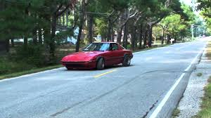 stanced rx7 fb rx7 turbo ii swap launch 1st and 2nd youtube