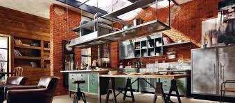 cuisine style loft industriel cuisine loft cuisine dans un loft de style rustique et