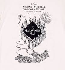 ecru harry potter marauders uv colour change rolled sleeve