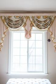 White Curtains With Green Leaves by Curtains Beautiful Swag Valance Curtains Find This Pin And More