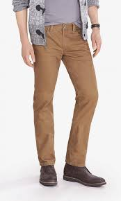 Light Colored Jeans Denim Review Express Rocco Slim Fit In Light Brown Celebrities