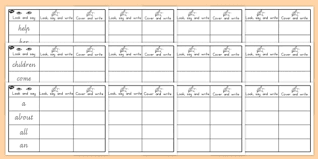 frequency sight words practice worksheets sight words