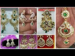 rajputi earrings rajputi gold earring design collection tops design earring set