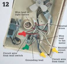 how to install a bathroom vent fan home improvement and repair
