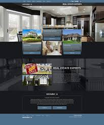 real estate website templates mobile responsive web designs for