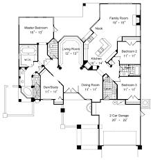rear master bedroom house plans