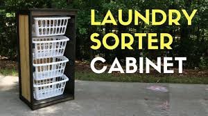 Laundry Sorter Cabinet Making A Laundry Sorter Cabinet Youtube