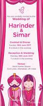 Creative Indian Wedding Invitations Sikh Wedding Invites Paperinvite