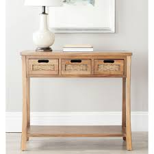 modern console tables with drawers safavieh autumn blue and grey storage console table amh6510d the
