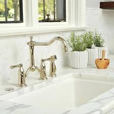 bridge kitchen faucets bridge kitchen faucet chrome grohe bridgeford 2handle bridge