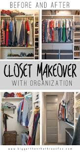 diy closet makeover change organizations and organizing