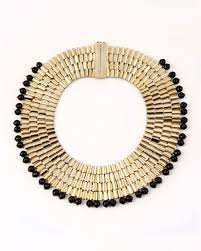 collar necklace beads images Rosantica beaded sunstone bib necklace woman necklaces 57 07 jpg