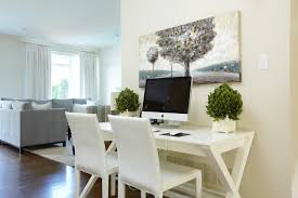 painting a desk white corner desk ikea look toronto traditional home office decoration