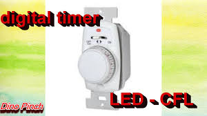 Intermatic Ej351 Timer by Install Digital Timer Cfl Or Led Youtube